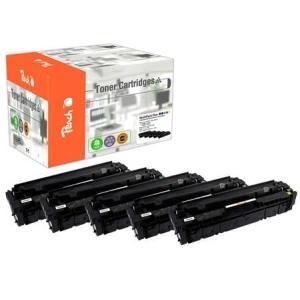 Peach  Spar Pack Plus Tonermodule kompatibel zu Hersteller-ID: No. 201A, CF400A*2, CF401A, CF402A, CF403A Toner