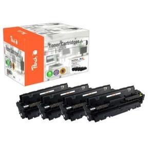 Peach  Spar Pack Tonermodule kompatibel zu Hersteller-ID: 410A, CF410-3A Druckerpatronen