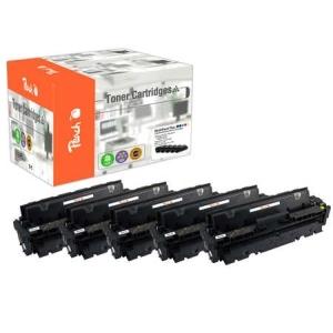 Peach  Spar Pack Plus Tonermodule kompatibel zu Hersteller-ID: CF410A*2, CF411A, CF412A, CF413A Druckerpatronen