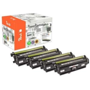 Peach  Spar Pack Tonermodule kompatibel zu Hersteller-ID: No. 508X Tinte