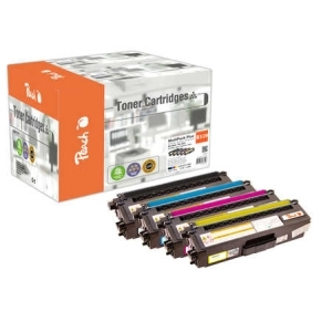 Peach  Spar Pack Plus Tonermodule kompatibel zu Hersteller-ID: TN-329 Toner