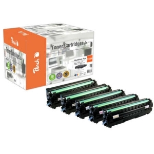 Peach  Spar Pack Plus Tonermodule kompatibel zu Hersteller-ID: CLT-504S Tinte
