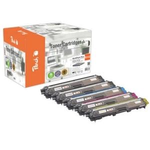Peach  Spar Pack Plus Tonermodule kompatibel zu Hersteller-ID: TN-242 Druckerpatronen
