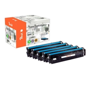Peach  Spar Pack Plus Tonermodule kompatibel zu Hersteller-ID: No. 203A Toner
