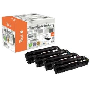 Original Peach Spar Pack Tonermodule kompatibel zu Hersteller-ID: CRG-046 Tinte