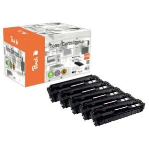 Original Peach Spar Pack Plus Tonermodule kompatibel zu Hersteller-ID: CRG-046 Druckerpatronen