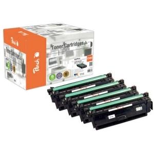Original Peach Spar Pack Tonermodule kompatibel zu Hersteller-ID: CRG-040 Druckerpatronen