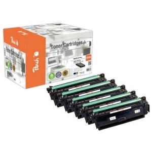 Original Peach Spar Pack Plus Tonermodule kompatibel zu Hersteller-ID: CRG-040 Tinte