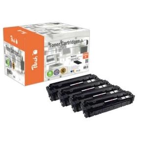 Original Peach Spar Pack Plus Tonermodule kompatibel zu Hersteller-ID: CRG-045H Toner