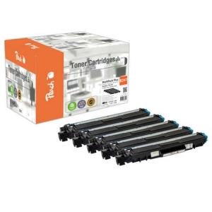 Peach  Spar Pack Plus Tonermodule kompatibel zu Hersteller-ID: TN-247 Druckerpatronen