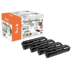 Peach  Spar Pack Tonermodule kompatibel zu Hersteller-ID: CRG-054 Toner