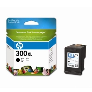 Original  Tintenpatrone schwarz, High Capacity Hersteller-ID: No. 300XL, CC641EE Tinte