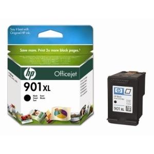Original  Tintenpatrone schwarz, High Capacity Hersteller-ID: No. 901XL, CC654AE Tinte
