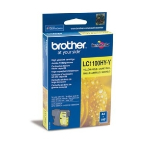 Original  Tintenpatrone gelb High Capacity Hersteller-ID: LC-1100 hy y Toner