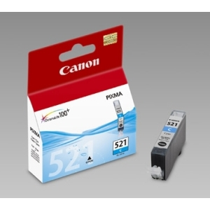 Original  Tintenpatrone cyan Hersteller-ID: CLI-521c, 2934B001 Tinte