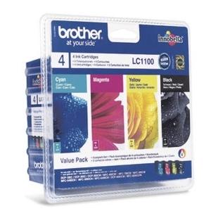 Original  Valuepack Tinte schwarz, color, Hersteller-ID: LC-1100V Toner