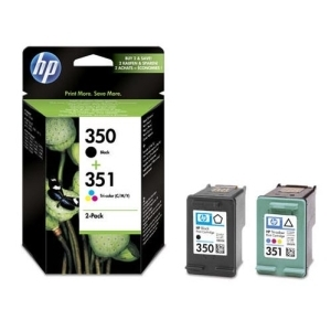 Original  Combopack Tinte bk, color Hersteller-ID: No. 350, No. 351, SD412EE Toner