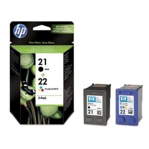 Original  Combopack Tinte schwarz, color, Hersteller-ID: No. 21,No. 22, SD367AE Druckerpatronen