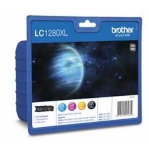 Original  Valuepack HY, Tinte schwarz, color, Hersteller-ID: LC-1280VA Toner