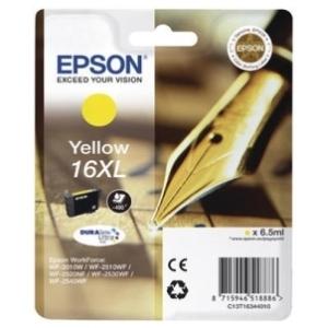 Original  Tintenpatrone XL gelb Hersteller-ID: No. 16XL y, T16344 Tinte