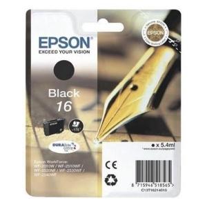 Original  Tintenpatrone schwarz Hersteller-ID: No. 16 bk, T16214 Tinte