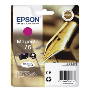 Original  Tintenpatrone magenta Hersteller-ID: No. 16 m, T16234 Toner