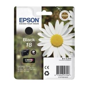 Original  Tintenpatrone schwarz Hersteller-ID: No. 18 bk, T18014 Toner