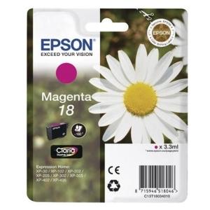Original  Tintenpatrone magenta Hersteller-ID: No. 18 m, T18034 Tinte