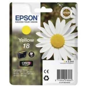 Original  Tintenpatrone gelb Hersteller-ID: No. 18 y, T18044 Tinte