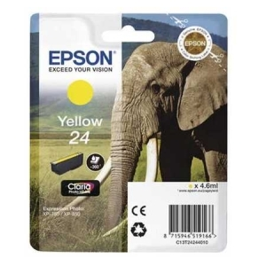 Original  Tintenpatrone gelb Hersteller-ID: No. 24 y, T2424 Tinte