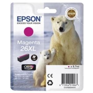 Original  Tintenpatrone XL magenta Hersteller-ID: No. 26XL m, T2633 Tinte