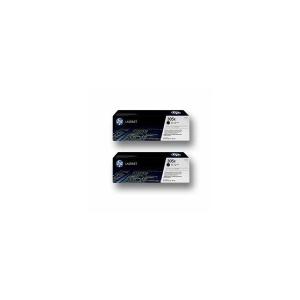Original 2  HY Tonerpatronen schwarz Hersteller-ID: No. 305XD, CE410XD Druckerpatronen