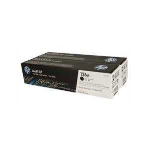 Original 2  Tonerpatronen schwarz Hersteller-ID: No. 126A, CE310AD Tinte