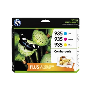 Original  Valuepack Tinte color, Hersteller-ID: No. 935XL, F6U78AE Toner