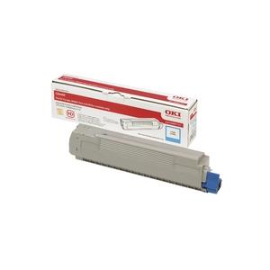 Original  Tonerpatrone cyan Hersteller-ID: 43487711 Toner