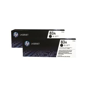 Original 2  Tonerpatronen schwarz Hersteller-ID: No. 83A, CF283AD Tinte