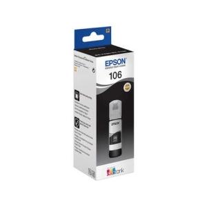 Original  Tintenbehälter schwarz Hersteller-ID: E106, T00R140 Tinte