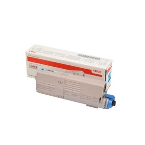 Original  Tonerpatrone cyan Hersteller-ID: 46490607 Druckerpatronen