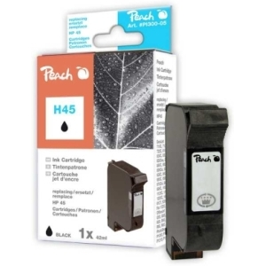 Peach  Druckkopf schwarz kompatibel zu Hersteller-ID: No. 45, 51645A Tinte