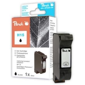 Peach  Druckkopf schwarz kompatibel zu Hersteller-ID: No. 15, C6615D Toner
