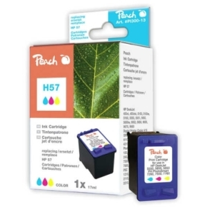 Peach  Druckkopf color kompatibel zu Hersteller-ID: No. 57, C6657AE Toner