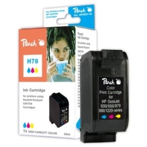 Peach  Druckkopf color High Capacity kompatibel zu Hersteller-ID: No. 78, C6578A Tinte
