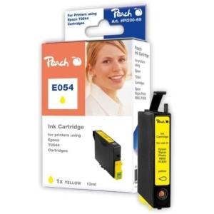 Peach  Tintenpatrone gelb kompatibel zu Hersteller-ID: T0544 Druckerpatronen