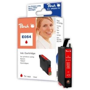 Peach  Tintenpatrone rot kompatibel zu Hersteller-ID: T0547 Toner