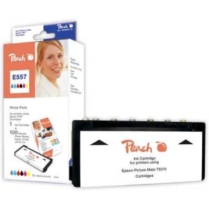 Peach  Foto Pack kompatibel zu Druckerpatronen