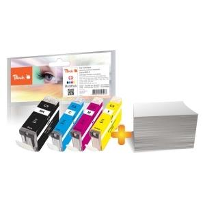 Peach  Foto Pack kompatibel zu Hersteller-ID: BCI-3e-series Tinte