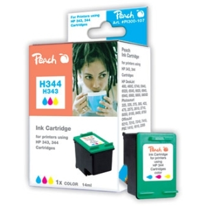 Peach  Druckkopf color kompatibel zu Hersteller-ID: No. 344, C9363E Tinte
