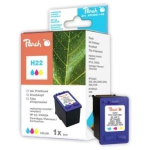 Peach  Druckkopf color kompatibel zu Hersteller-ID: No. 22XL, C9352AE Toner