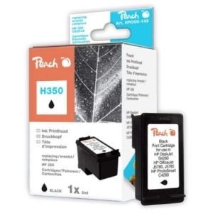 Peach  Druckkopf schwarz kompatibel zu Hersteller-ID: No. 350, HP CB335EE Tinte