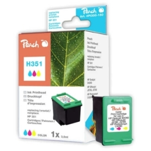 Peach  Druckkopf color kompatibel zu Hersteller-ID: No. 351, HP CB337EE Toner